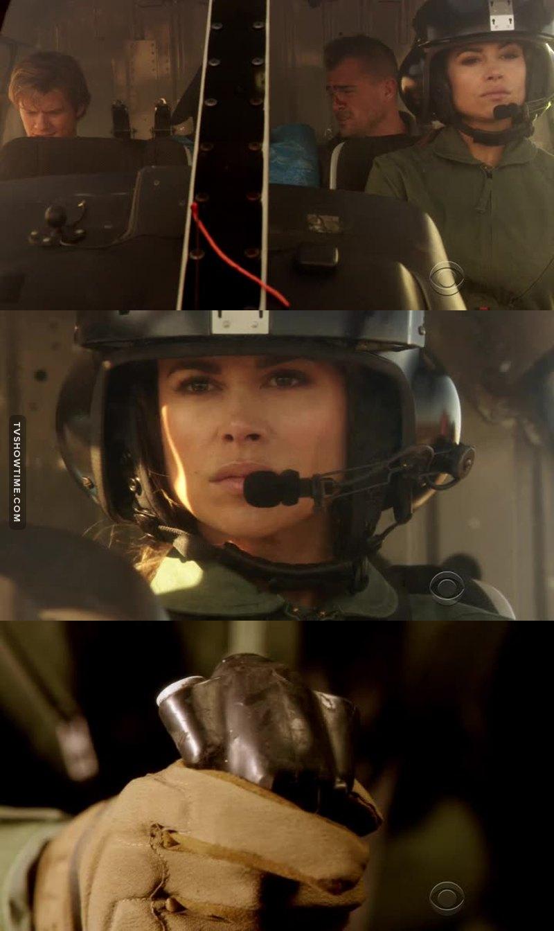 Female combat pilot. Rock on, mama. 👍