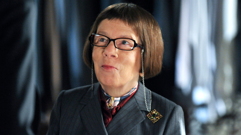 Would've been cool if Linda Hunt was the new boss ...