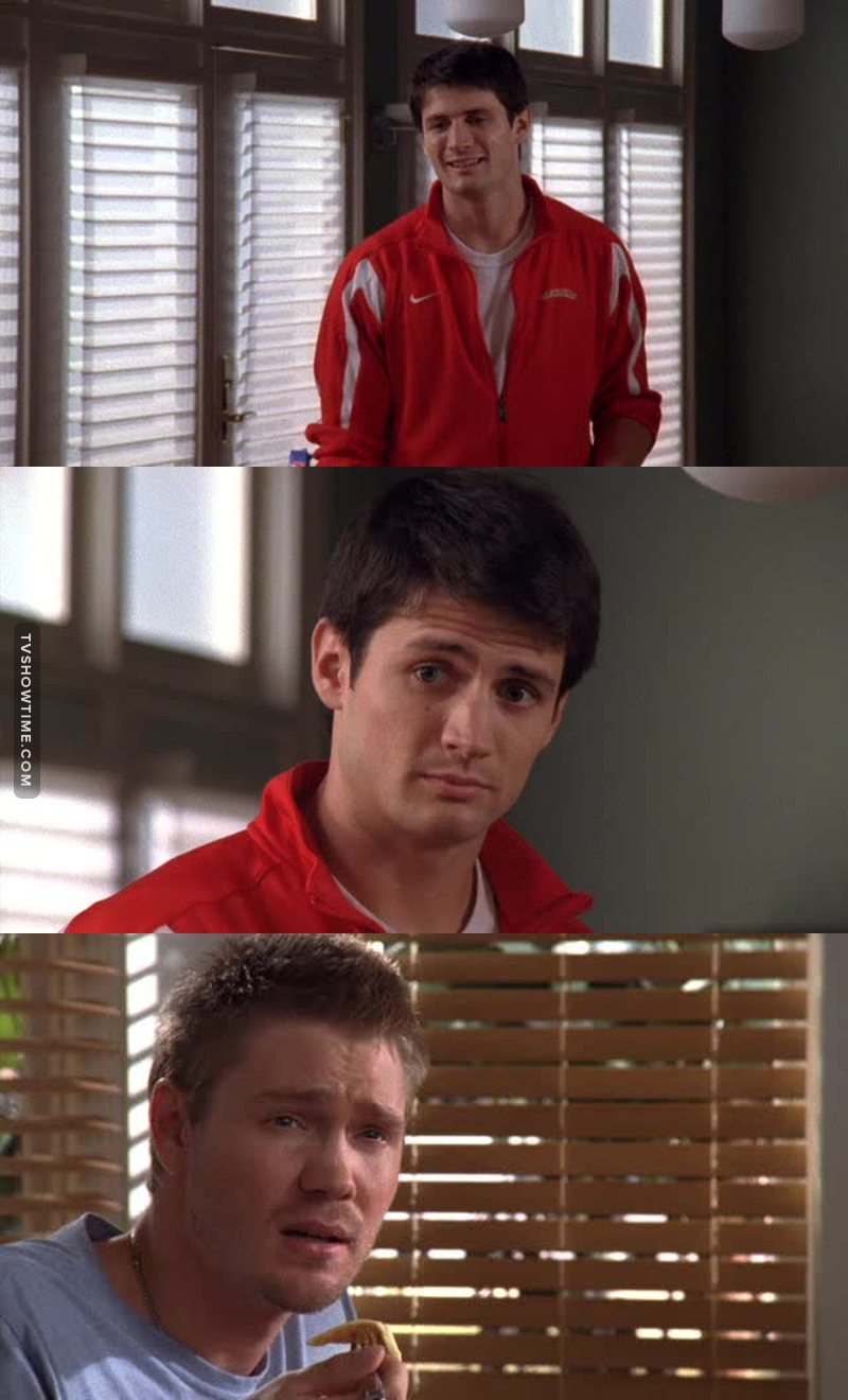 Quando Nathan dice che gli attori che scelgono per interpretare i liceali nei film sono sempre molto più grandi..... 😂😂😂 l'ho sempre pensato anche io 😍😂