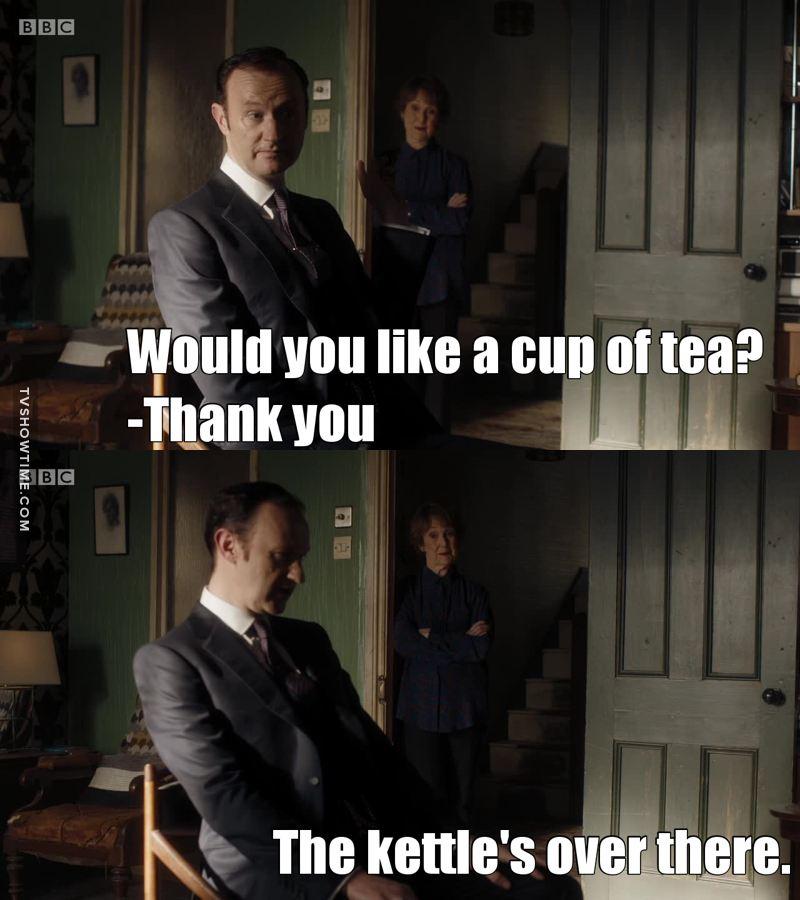 Mrs. Hudson is so savage 😂😂😂