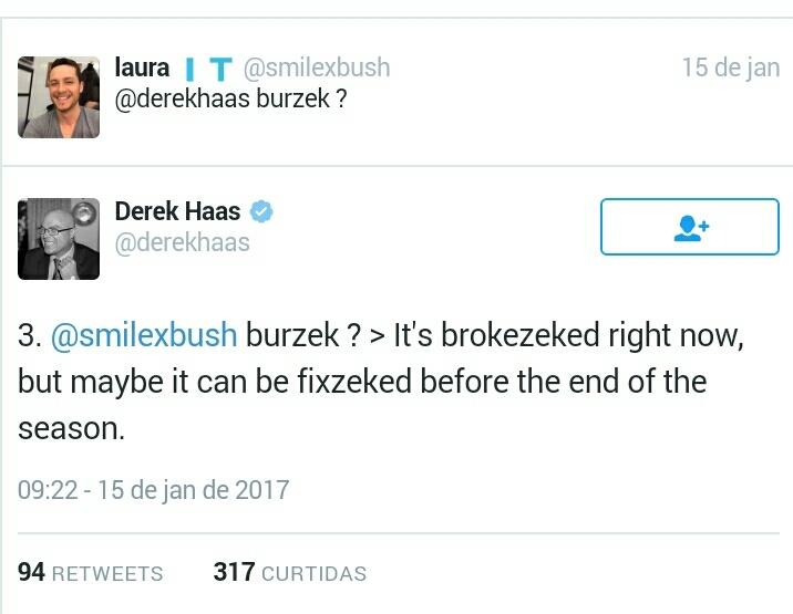 About Burzek...
