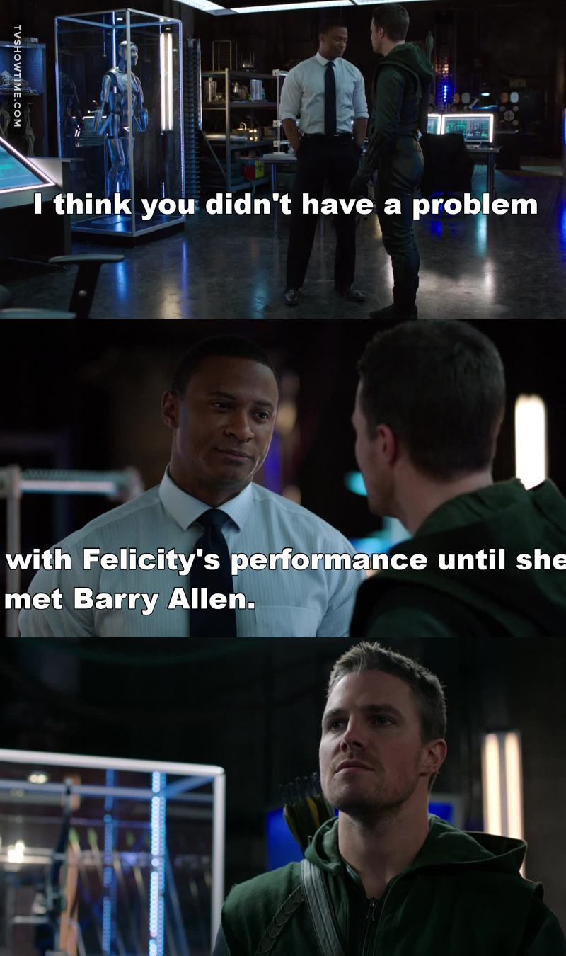 Diggle speak for all the fandom