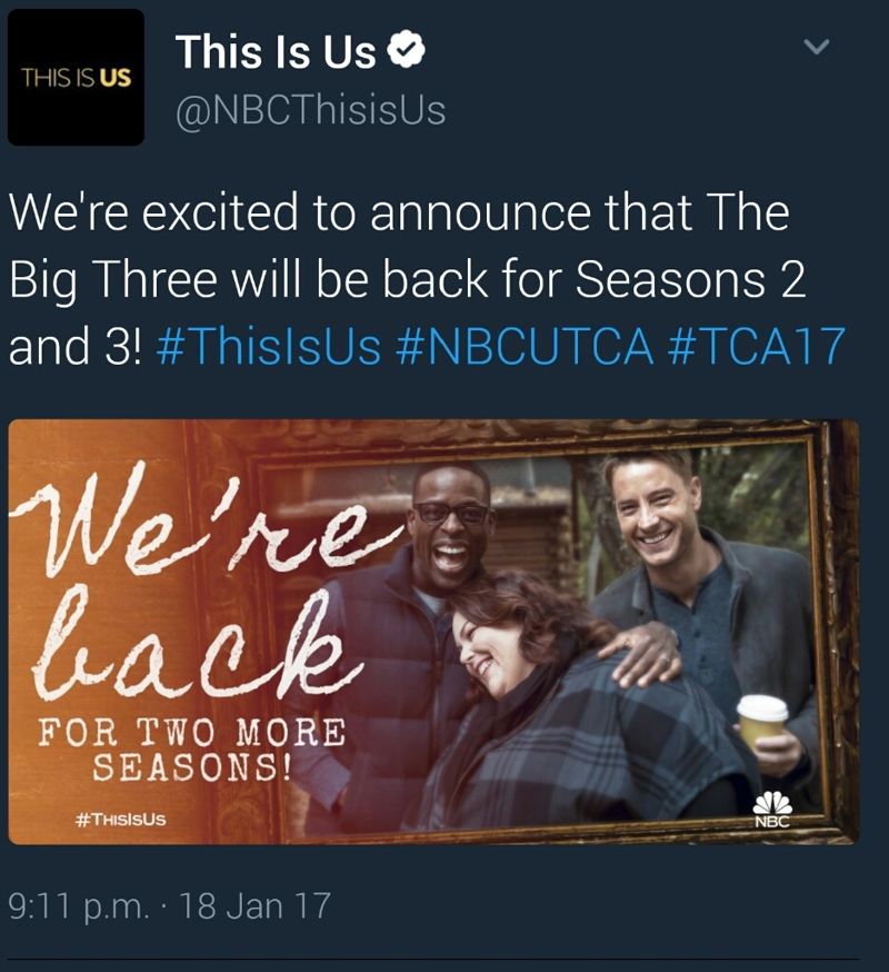 YES!!! Season 2 & 3 announced!!!!!