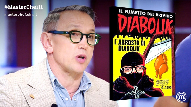 - Bruno, i ragazzi d'oggi non leggono più Diabolik. - E che c***o leggono??! 😂😂😂