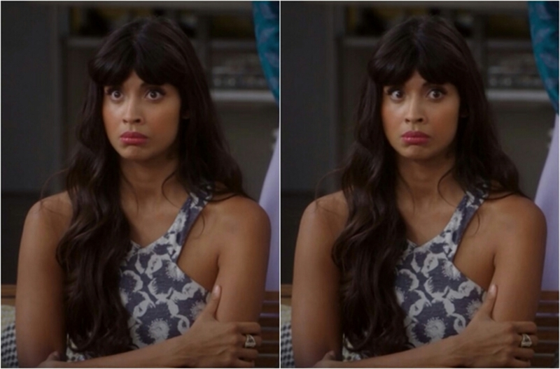 """Side note, I might legit be into Tahani. But that's for another time"""