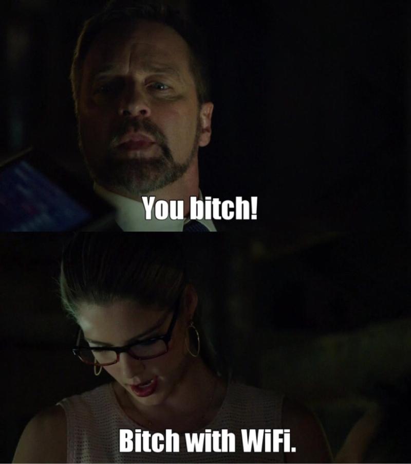 Ohhhhh Felicity 😂
