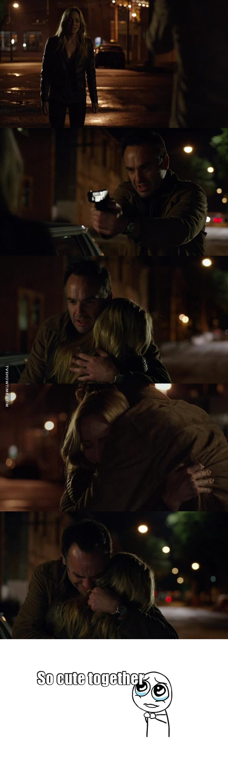 Amazing scene... I'm so happy for them