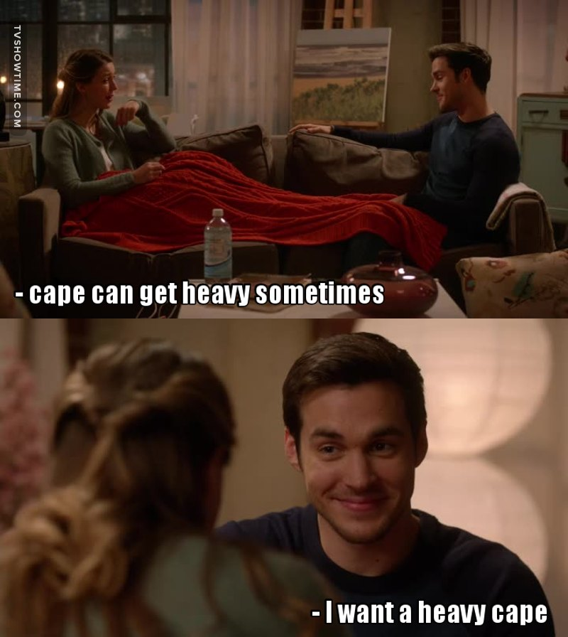 Mon-El is cracking me up every episode 😂
