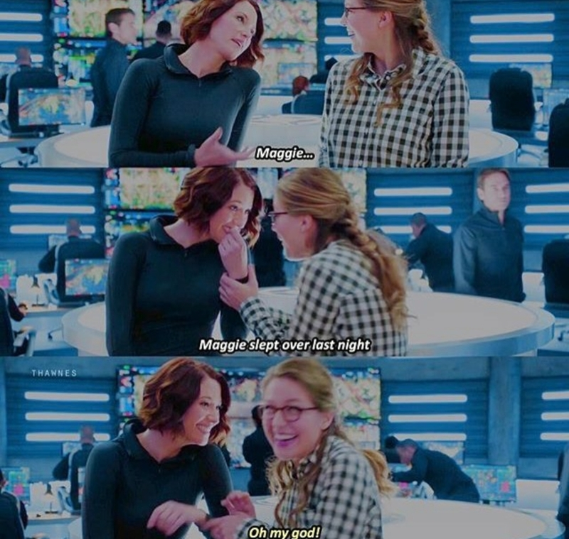 This scene was so adorable!😍😏👏