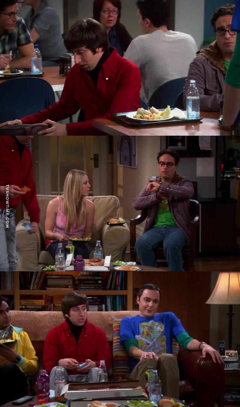 Sheldon aura tenu 94 seconde ce qui est énorme le connaissant .