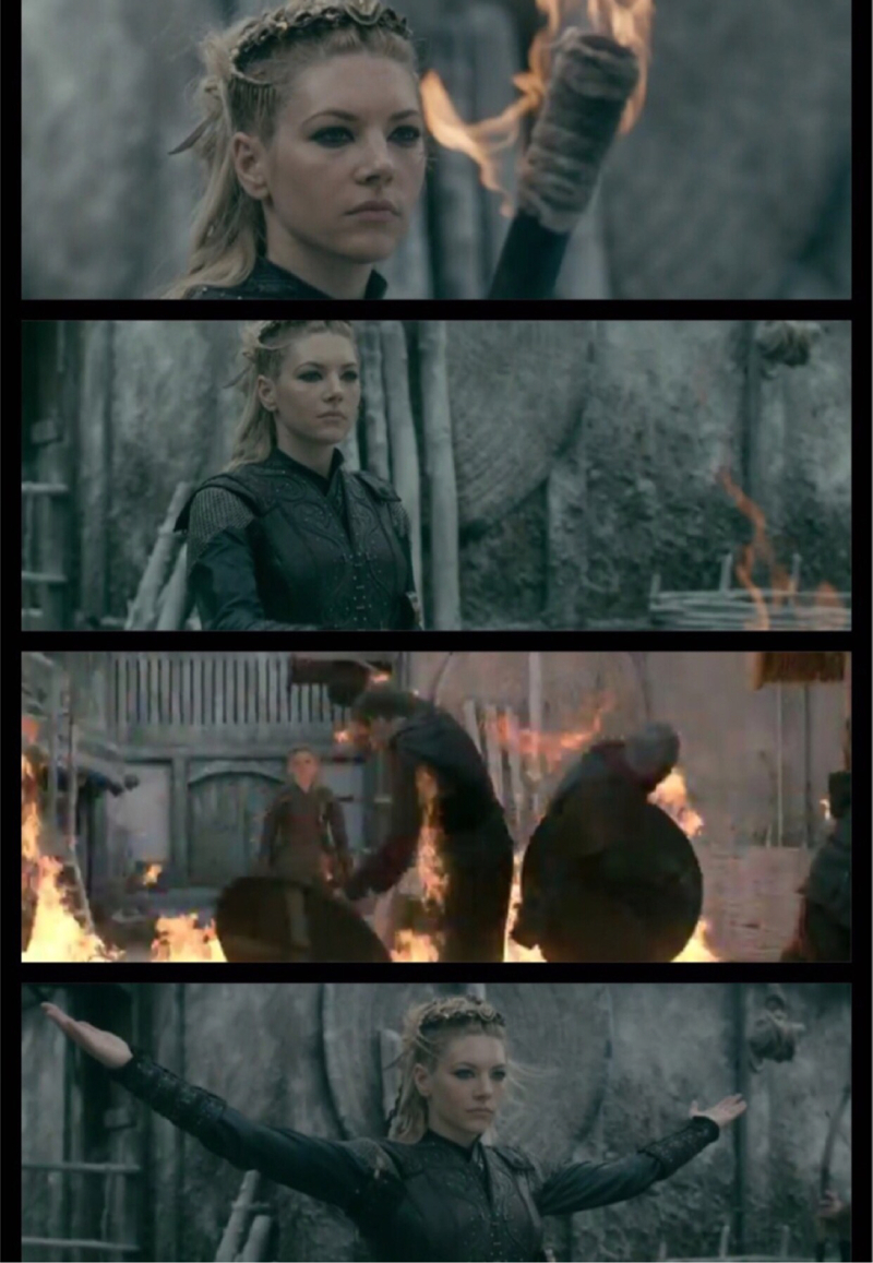 Lagertha The  Ruthless 👌