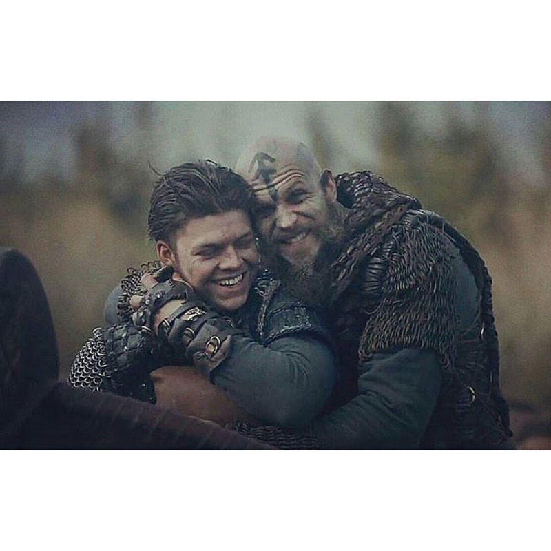 Ivar's plan made the battle just like fighting some kittens with sharp nails 😍