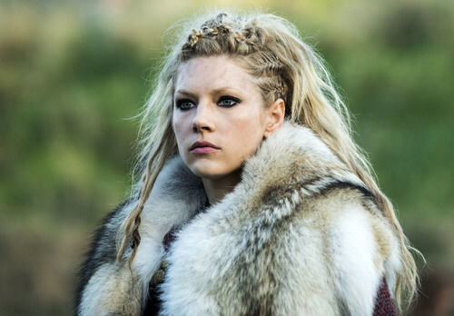 Imagine how would Aslaug deal with this situation if she was the queen of Kattegat.  Kattegat has only one queen.