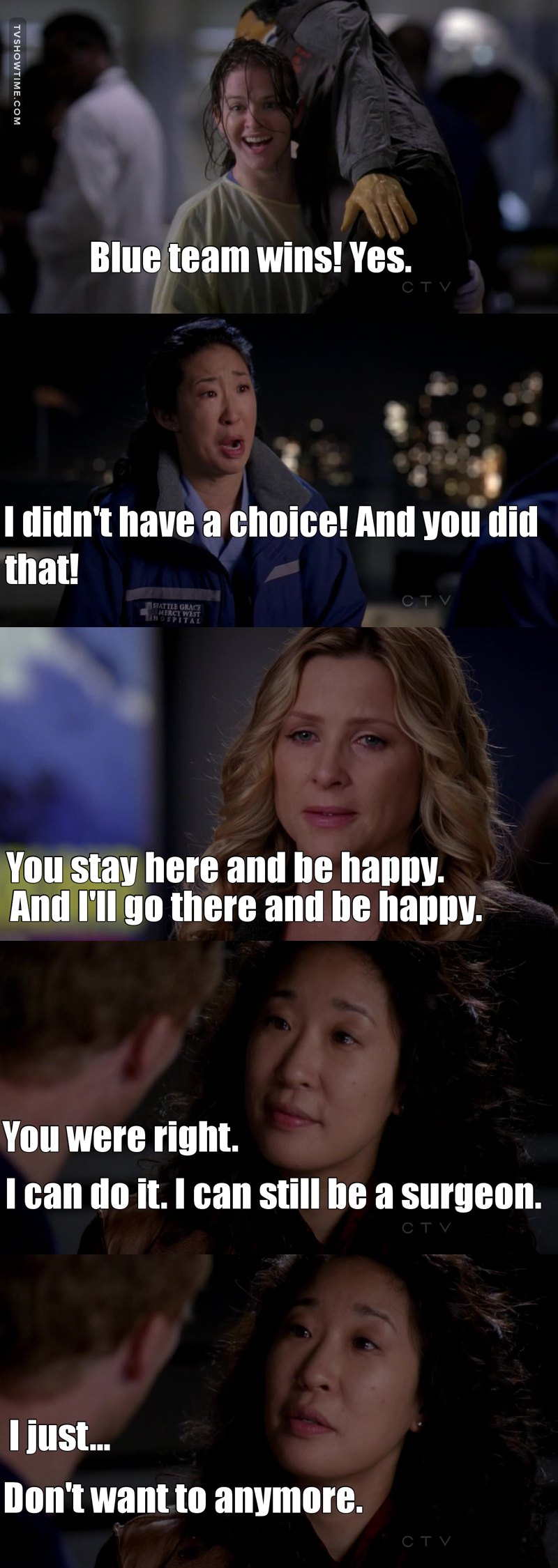 Like, what the hell just happened in that episode?:)))) Arizona?? CHRISTINA WHAT???