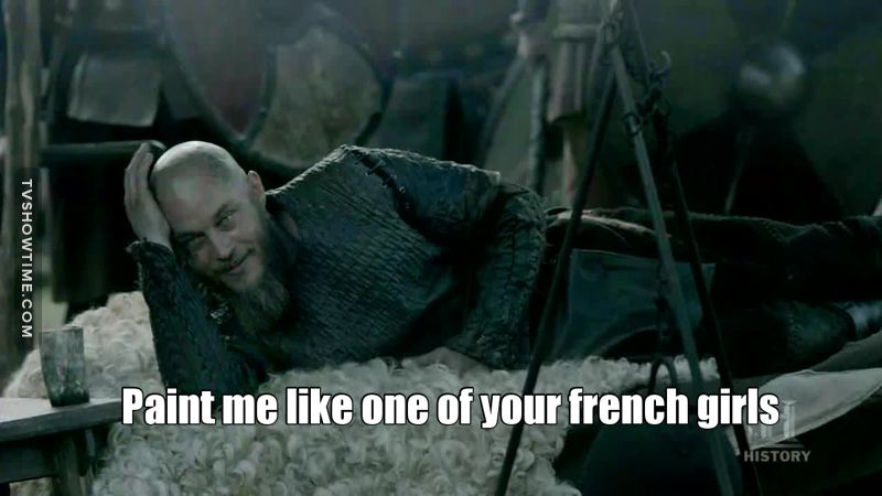 When Ragnar is a real fan of Titanic