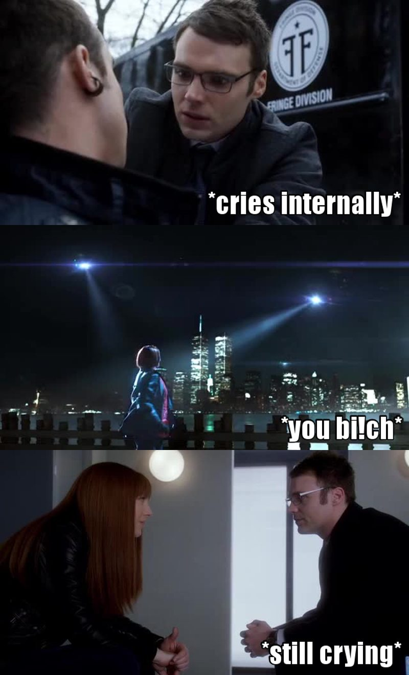 😢😢 100% sure Agent Lee will fall in love with her and permanently live on the other side!