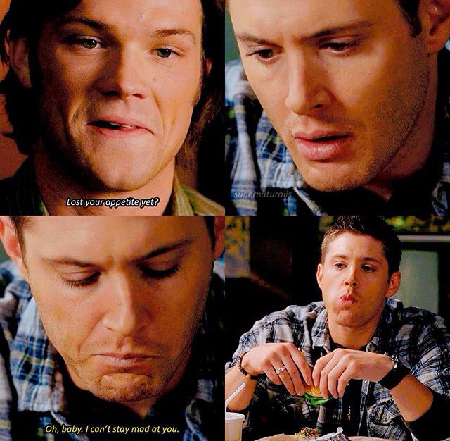 Dean and his food 😂