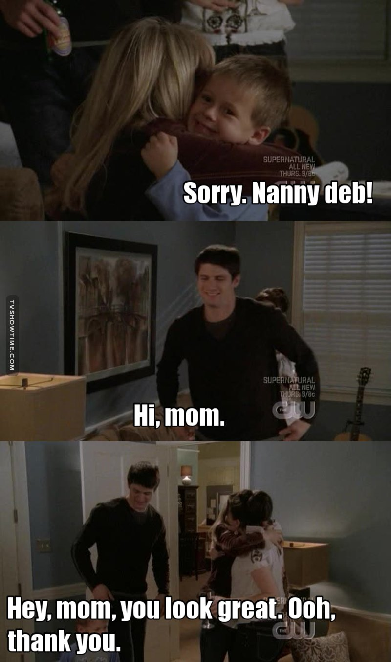 """Has anyone else realised that Haley called Deb """"Mom""""?? 😂😅💕"""