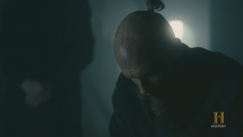 Floki :  A part of me died with my daughter Angrboda A second part with Ragnar  And the last part of what was Floki died with my sweet, sad Helga