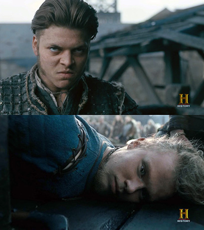 Oh, Ivar... you fucked up so bad!  I don't really like Sigurd 🙄but Ivar should learn how to control his anger.