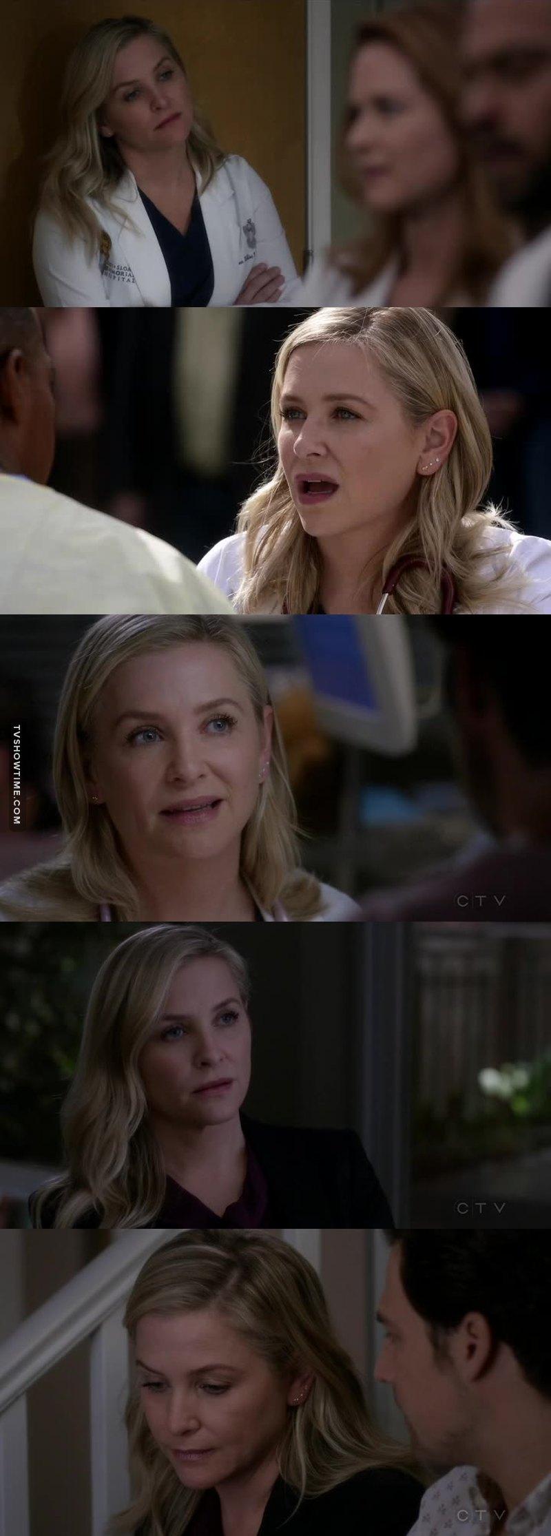 I love how she cares for Alex ❤