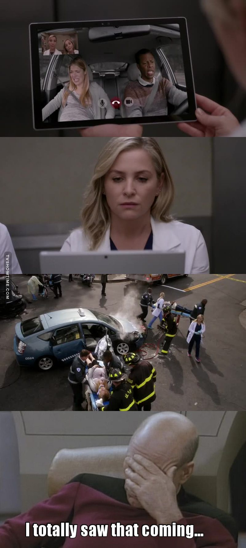 After 13 seasons you can just feel when a disaster is coming...