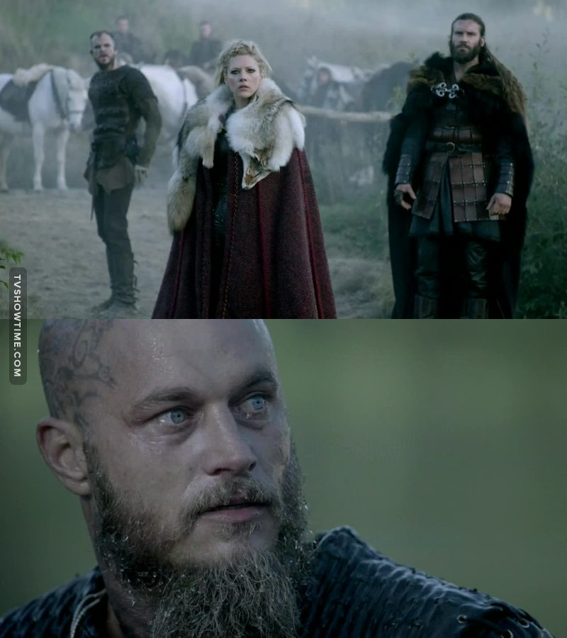 """""""And when I die, I want to be reunited with my Christian friend, who happens to be in your heaven.""""   Oh Ragnar ☹️❤️"""