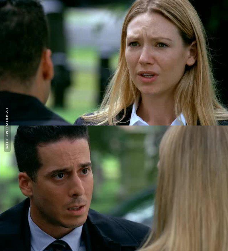 Eddai Olivia, basta pensare a John. Ora c'hai uno come Peter a portata di mano 😆