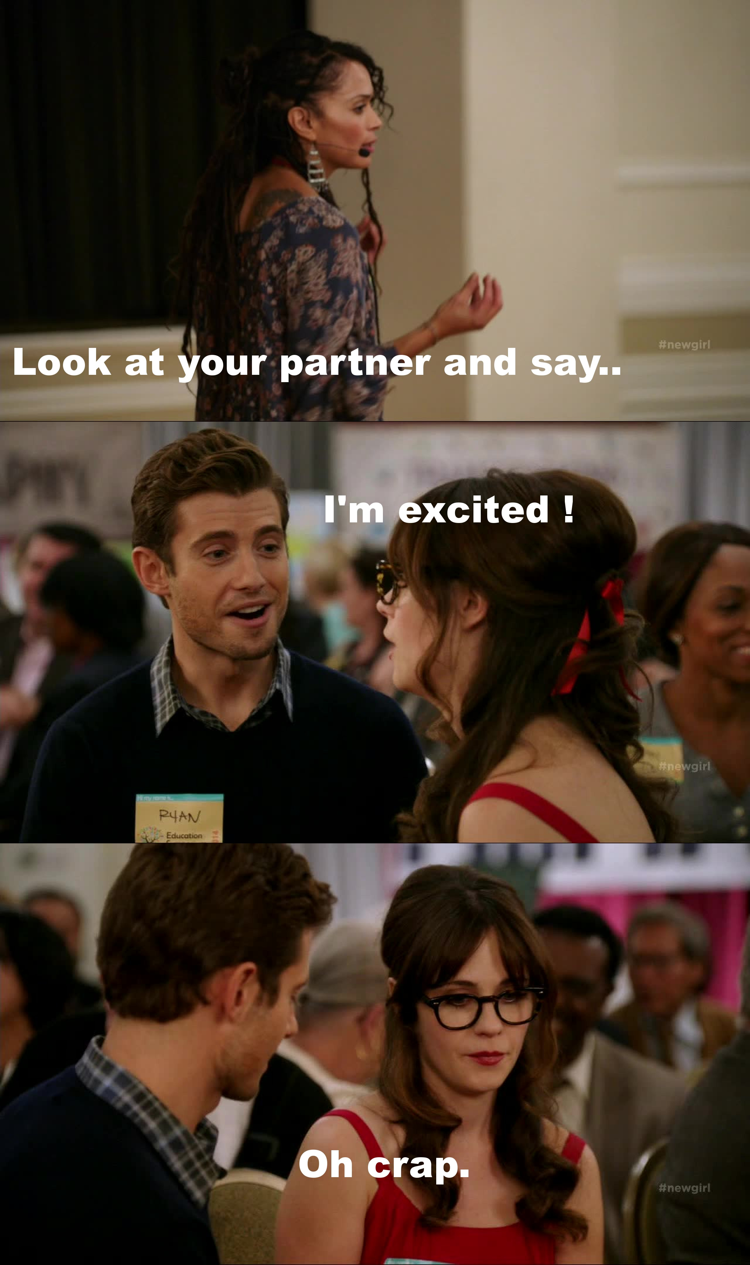 Zooey Deschanel is a talented actress. Actually they're all really good actors, this show is wonderful, period.
