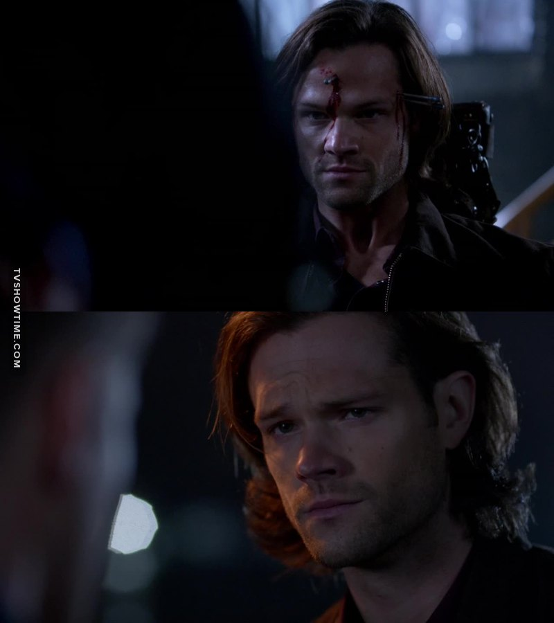 Gadriel vs Sammy, or 😠 vs 😟 haha! Great acting, Jared!
