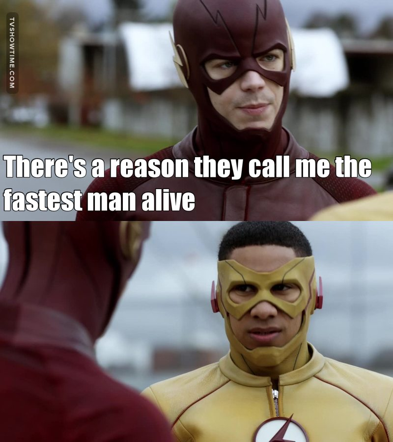 Really ? Is that a joke ? I mean, look at Wally's face, even him knows that's bullshit 😁