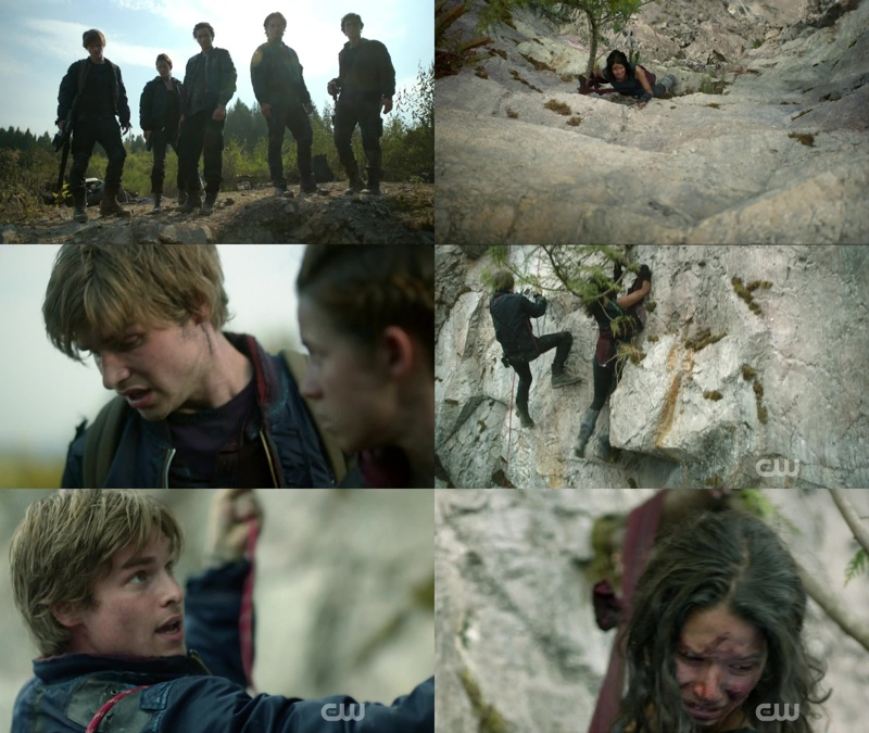 Riley is not a new character, he was in episode 2x04 when Bellamy and the others were saving a girl from  farm station, he fell on the cliff and everyone thought he had died.