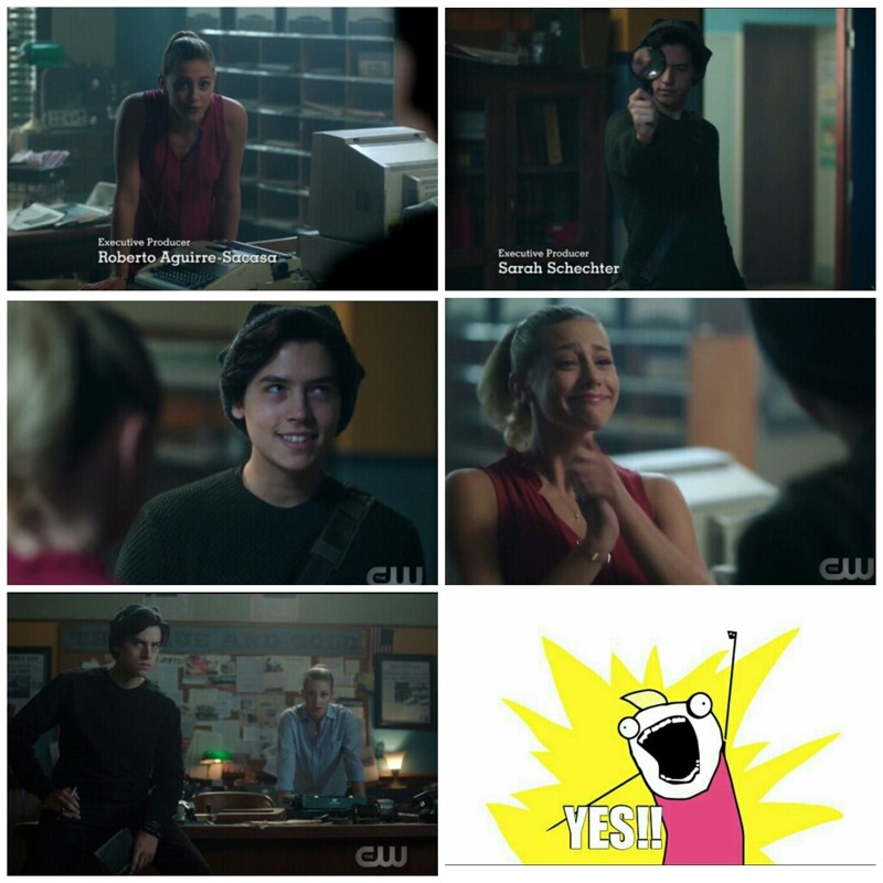 I really love this friendship between Betty and Jug ♥♥