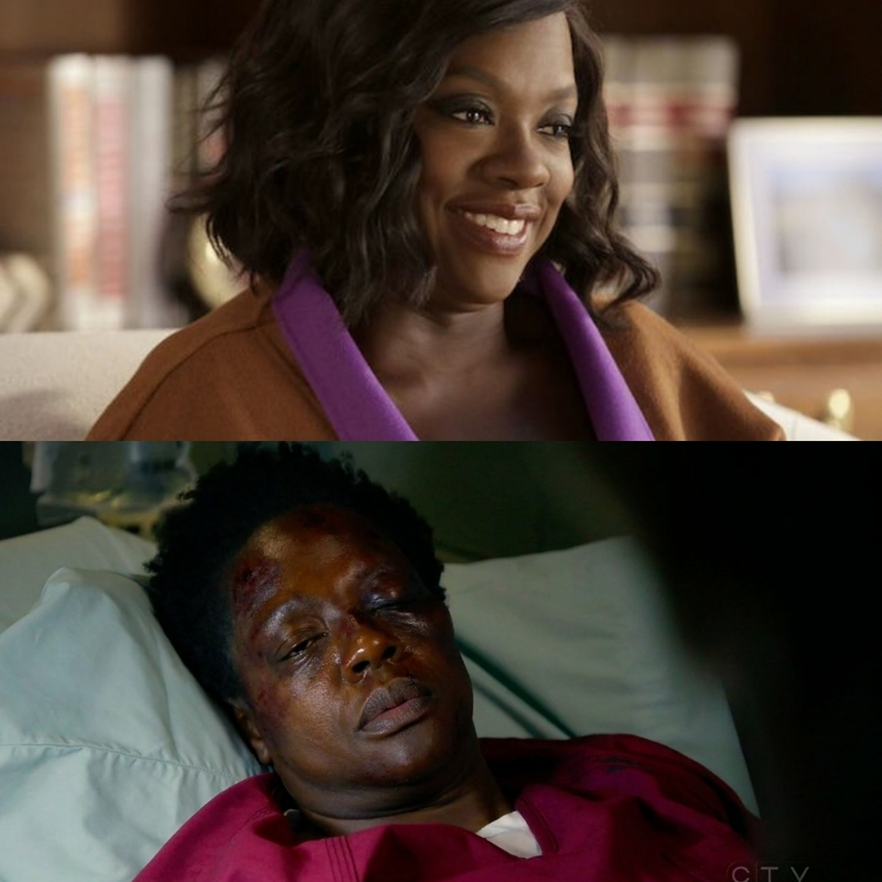 me before and after an episode of HTGAWM