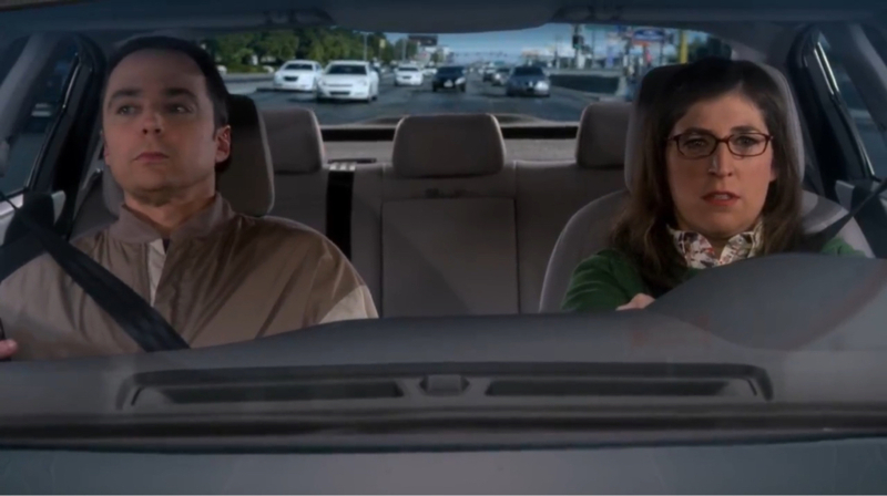 """Gps says we will be at the railway in three hours"" ""I can get us there in two""  Love Sheldon and Amy so much ❤️"