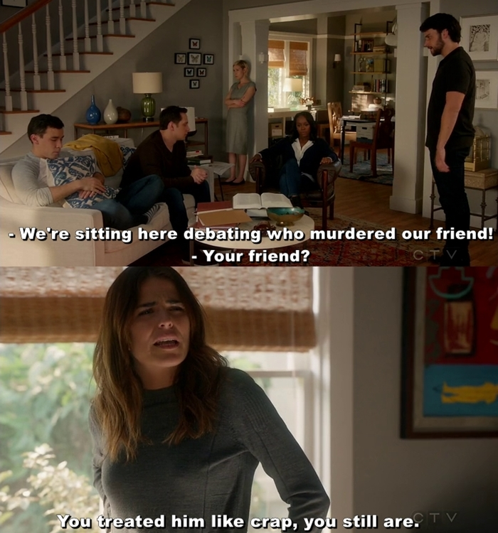 SLAY LAUREL!!!! Shut up, Connor. All you do is complain and complain.