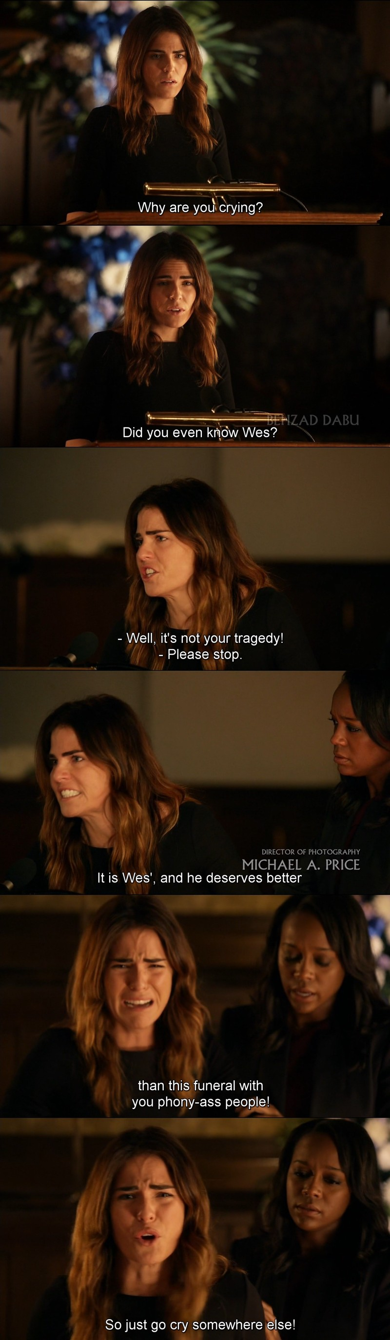 Wow !!! Karla Souza totally slayed in this scene!!!!!!! I think she deserves more recognition than she has!!!!!