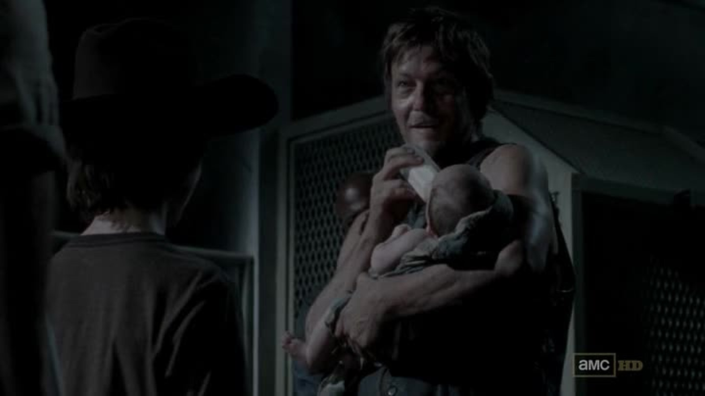 Daryl's the best! It was amazing how he feed this little girl