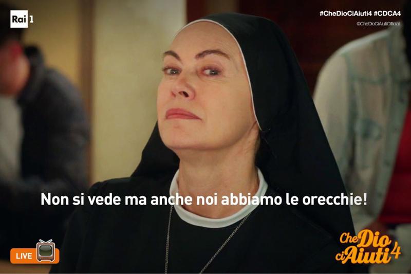 Suor Angela sempre la migliore 😂😀👍