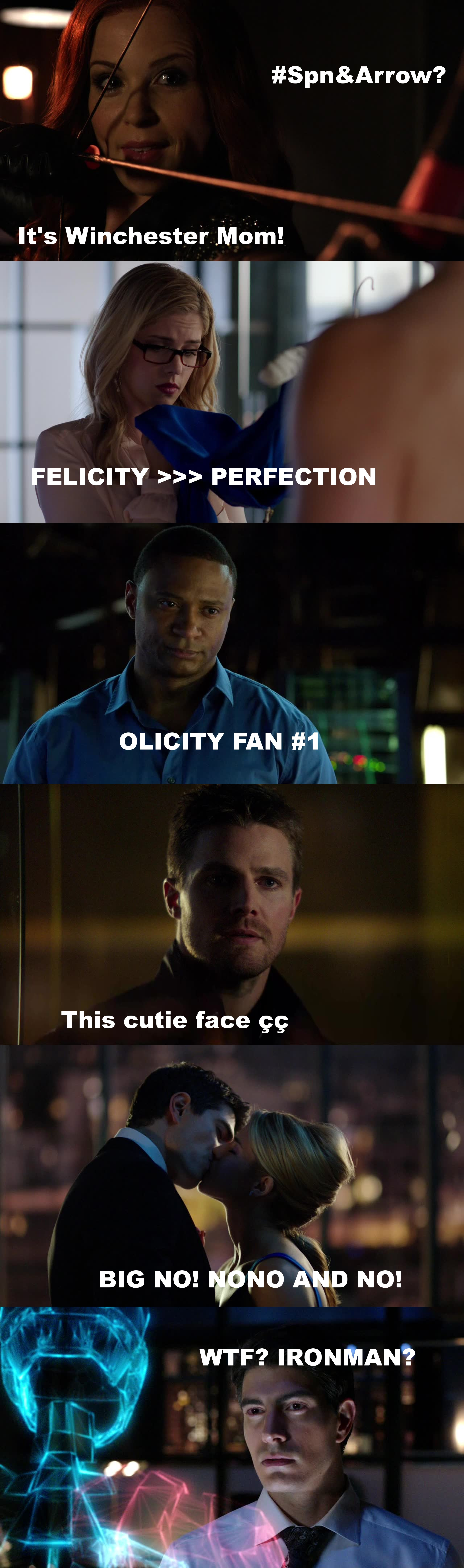 I think this episode crack my heart and.my feels!! I NEED OLICITY NOW. Poor Oliver, but Felicity can't wait him forever, i know that Olicity is endgame! u.u