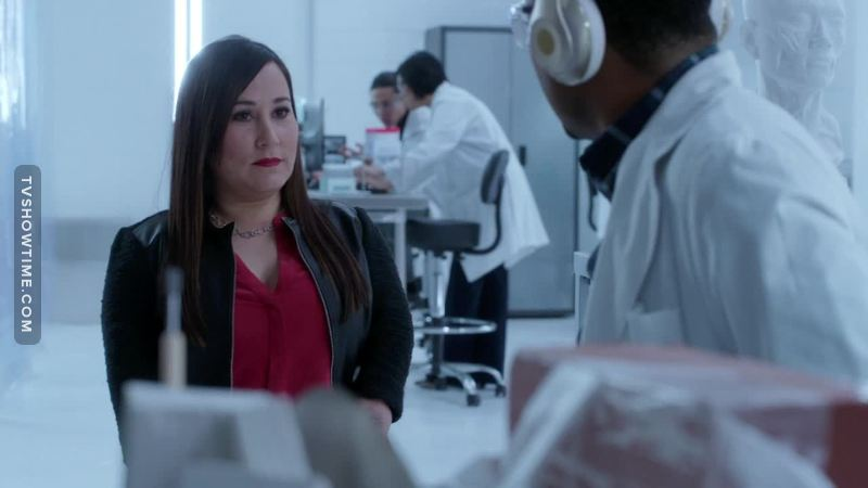 So annoyed when I knew Thornton was replaced but now that I've seen Matty, I think it's a great decision from TPTB. Thornton was good, but Matty is a lot more interesting character. Plus, Meredith Eaton has a really great chemistry with everyone.