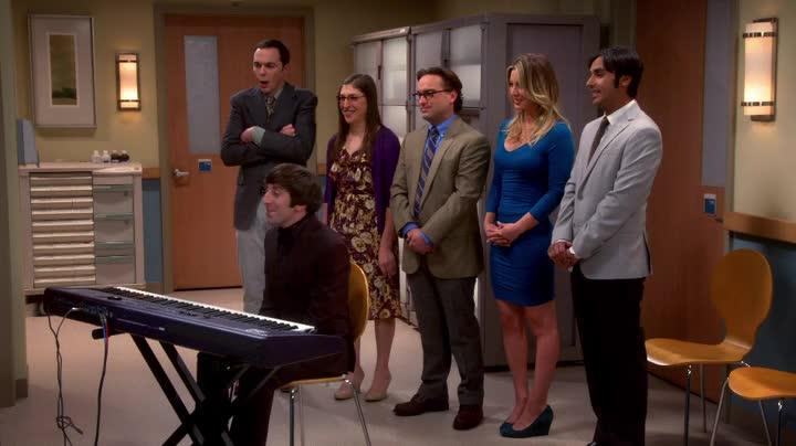 Best scene with original song ever made on TV, I am moved every time I watch this! AWESOME HOWARD!!!