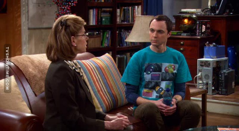 I knew that Sheldon will love her Are you sure that she is not Sheldon's mom 😂?