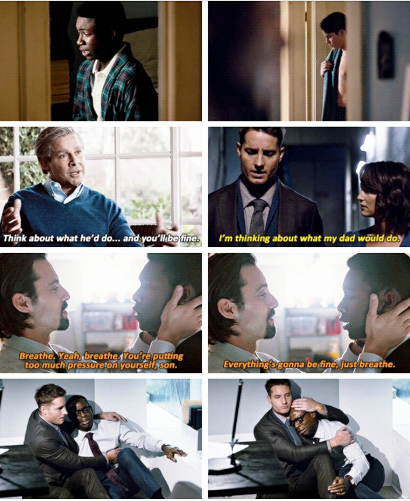 """""""You are Jack Pearson's son. You have him inside of you."""""""
