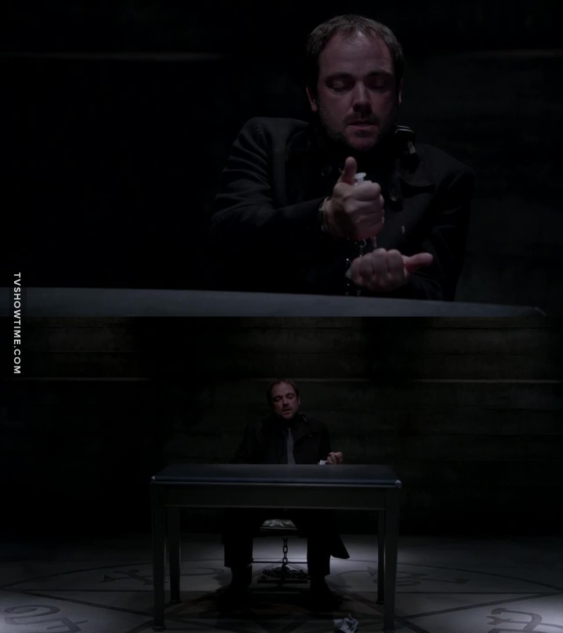 You are talking about Cass and yeah, he's adorable and stuff. But can we take a minute to love Crowley? Sometimes he's a leader, sometimes a jerk, sometimes a teenager, sometimes a fair dealer and now he wants to become more human? I just can't but love him.
