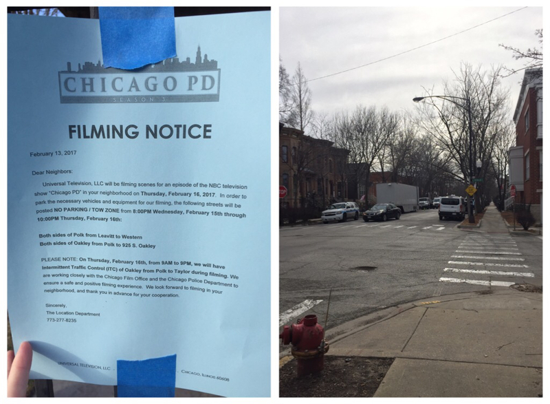Chicago PD was filming on my street today! And I've realized that in this episode where the house was burned it was close to where I live too. That's awesome 😄