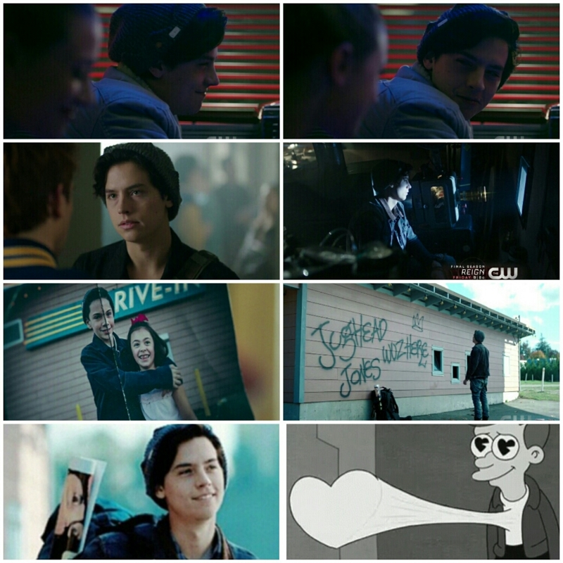 Jughead is the best character. So Glad there was more of him in this episode :)))  Love Juggy ♥♥♥