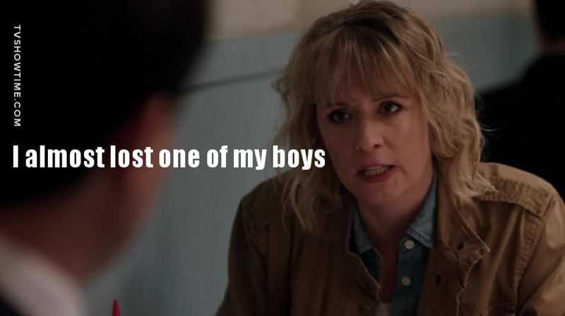 Do you think she was talking about Castiel?