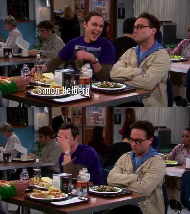 La risata di Sheldon😍😍😂😂