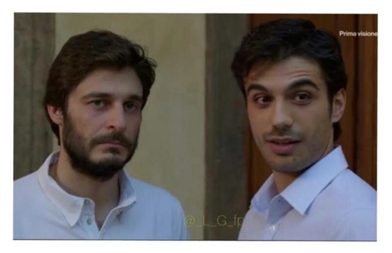 Basta questo primo piano a rendere questo episodio il migliore della stagione 😍😍  Guido e Nico, o Gianmarco e Lino se preferite  😍  Ciaone proprio 💜 rincoglionita al massimo